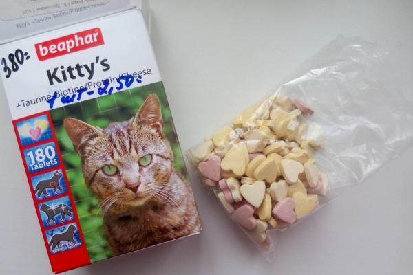 beaphar kitty's protein