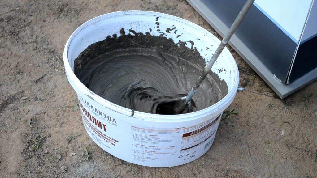 жидкое стекло в бетонный раствор